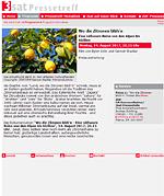 3sat Pressetreff - Reisefilm Wo die Zitronen blühen