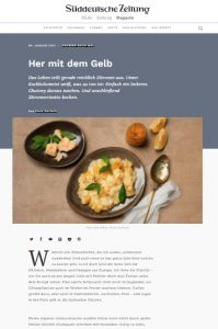 Süddeutsche Zeitung - Her mit dem Gelb - Zitronenrezepte